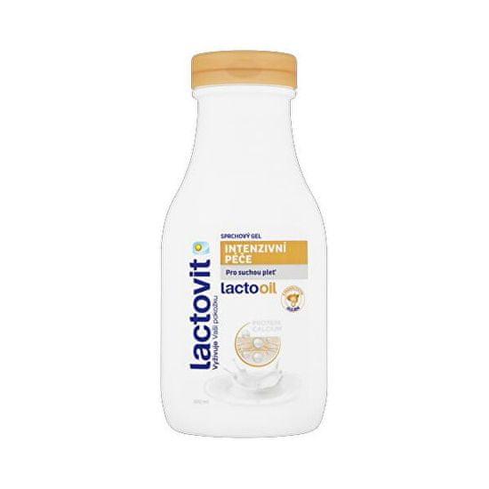 Lactovit Tusfürdő mandulaolajjal Intenzív ápolás Lactooil (Shower Gel) 300 ml