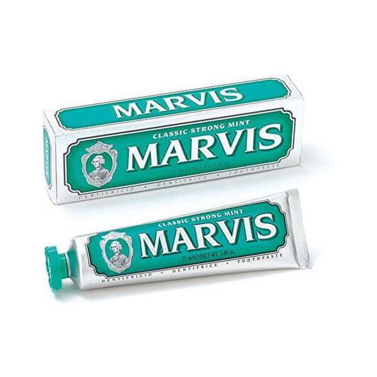 Marvis Zubní pasta se silnou mátovou příchutí (Strong Mint Toothpaste) 85 ml