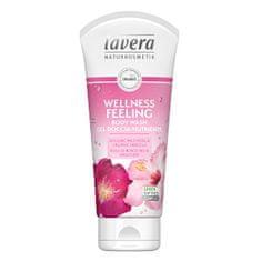 Lavera Sprchový a koupelový gel Wellness Feeling Bio divoká růže a Bio ibišek (Body Wash Gel) 200 ml