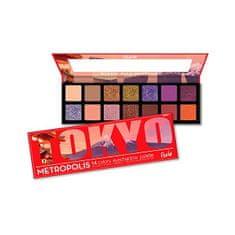 Rude Cosmetics Metropolis Tokyo (Eyeshadow Palette) 14 g 14 g