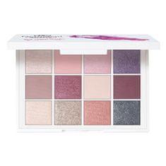 Dermacol Luxus szemhéjfesték paletta (Luxury Eyeshadow Palette) 18 g (árnyalat Romance)