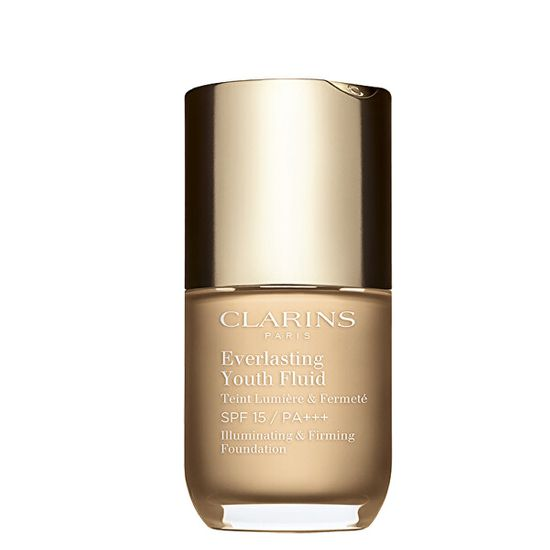 Clarins Folyékony make-up Everlasting Youth Fluid (Illuminating & Firming Foundation) 30 ml
