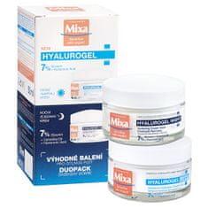 Mixa Kosmetická sada pleťové péče Hyalurogel Duopack 2 x 50 ml