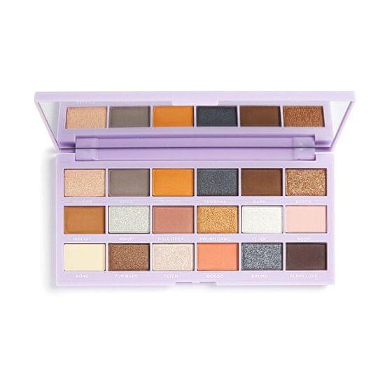 I Heart Revolution Paletka očních stínů Revo-Pooches (Shadow Palette) 22 g