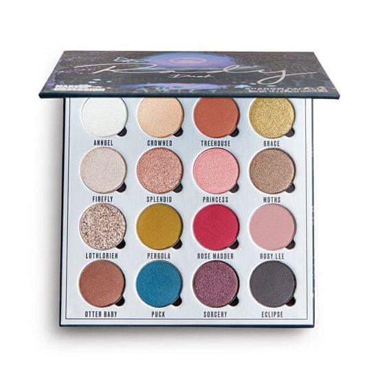 Makeup Obsession Szemhéjfesték paletta Rady Dusk (Shadow Palette) 16 x 1,3 g