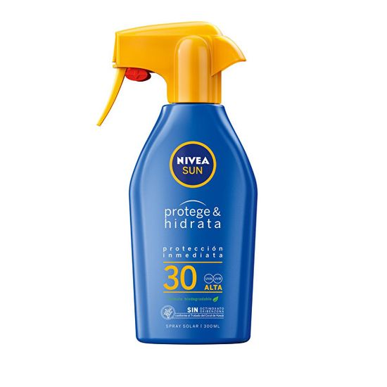 Nivea Hidratáló napvédő spray OF 30 Sun (Protect & Moisture Trigger Spray) 300 ml