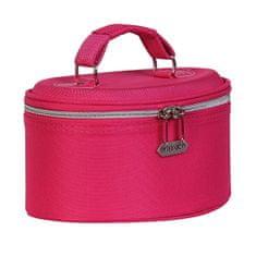 Kosmetický kufřík růžový střední
