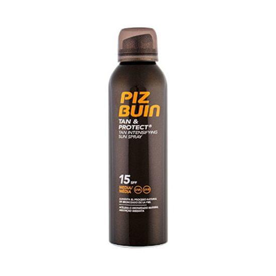 PizBuin Ochranný sprej urýchľujúci opálenie Tan & Protect SPF 15 (Tan Intensifying Sun Spray) 150 ml