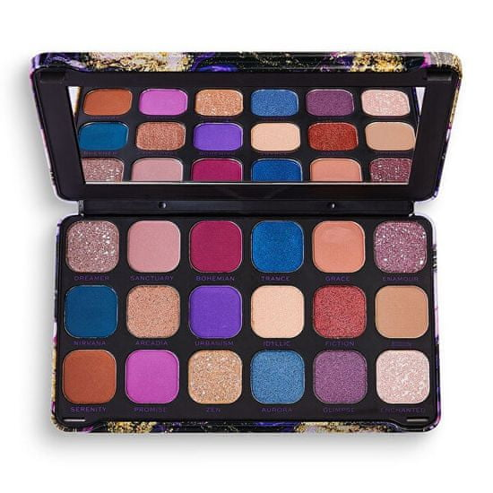 Makeup Revolution (Eyeshadow Palette) Forever Flawless Eutopia (Eyeshadow Palette) 19,8 g