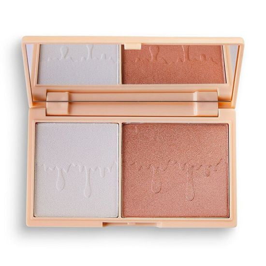 I Heart Revolution Paletka senčil za obraz Fondue Mini Chocolate (Highlighter Palette) 11,2 g