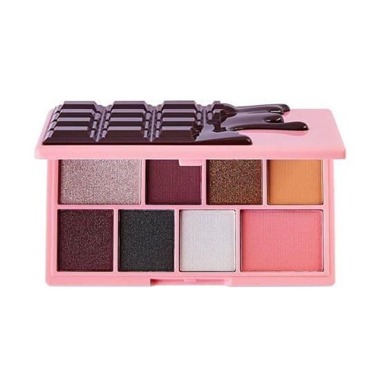 I Heart Revolution Paletka očních stínů Rocky Road Mini Chocolate (Shadow Palette) 10,2 g