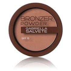 Gabriella Salvete Bronzující pudr SPF 15 Bronzer Powder 8 g (Odstín 03)