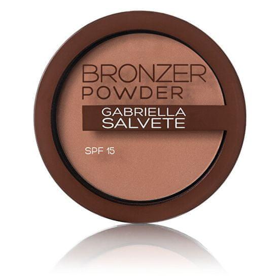 Gabriella Salvete Bronasti puder SPF 15 Bronzer v prahu 8 g