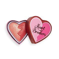 I Heart Revolution Tvářenka Heartbreakers Shimmer 10 g (Odstín Strong)