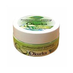 Bione Cosmetics Profesionální pleťový a tělový peeling Okurka 200 g