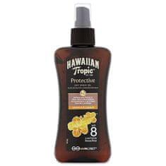 Hawaiian Tropic Olejek do opalania na sucho w sprayu SPF 8 Protective (Dry Spray Oil) 200 ml