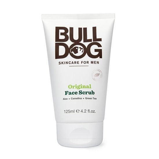 Bulldog Pleť piling za moške za normalno kožo Original Face Scrub 125 ml