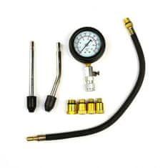 Kraftika Měrka kompresoru pro benzínové motory se sadou adaptérů v