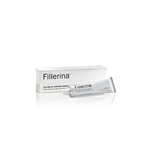 Fillerina Krém proti stárnutí pleti na kontury očí a rtů stupeň 3 (Eye And Lip Countour Cream) 15 ml
