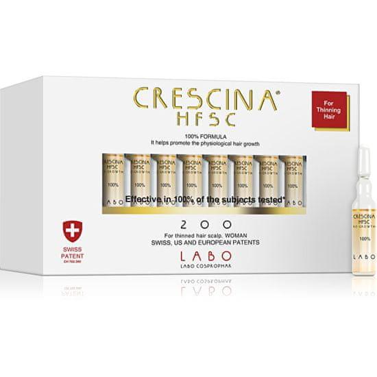 Crescina Péče na podporu růstu vlasů pro ženy stupeň 200 Re-Growth 20 x 3,5 ml