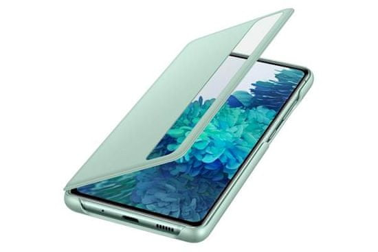 Samsung Clear View ovitek za Galaxy S20 FE, preklopni, pametni, zelen