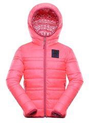 ALPINE PRO Idiko dekliška obojestranjska bunda, 152 - 158, roza