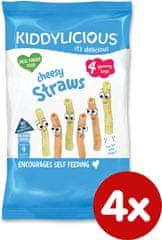 Kiddylicious Bramborové tyčinky sýrové 4x12g