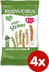 Kiddylicious Zemiakové tyčinky zeleninové 4x12g