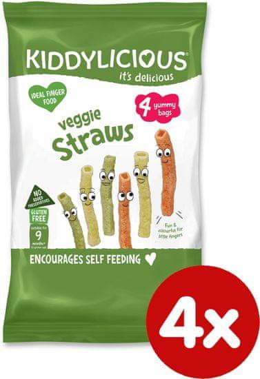 Kiddylicious Kiddylicious tyčinky zeleninové multipack (4x12g)