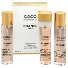 Chanel Coco Mademoiselle - EDT náplň (3 x 20 ml) 60 ml