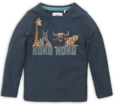 KokoNoko chlapecké tričko - safari tmavě modrá 98