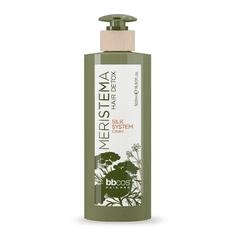Bbcos Balzám na vlasy s rostlinnými kmenovými buňkami Meristema Silk System Cream 500 ml