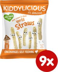 Kiddylicious Lencsés ropi 9x15g