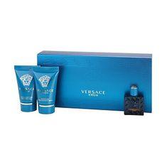 Versace Eros - woda toaletowa 5 ml + balsam po goleniu 25 ml + żel pod prysznic 25 ml
