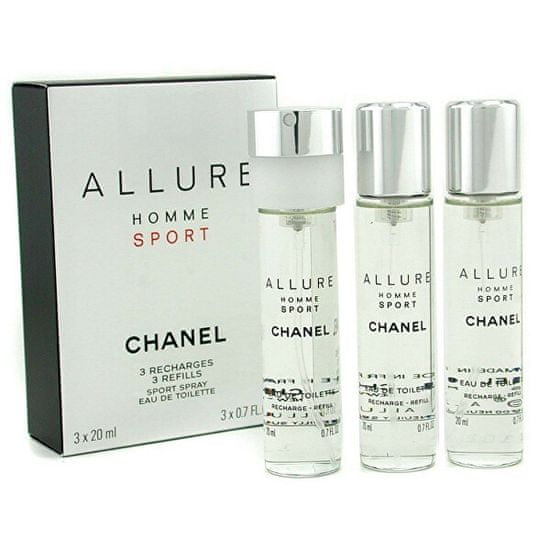 Chanel Allure Homme Sport - EDT utántöltő (3 x 20 ml)