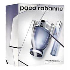 Paco Rabanne Invictus - EDT 100 ml + EDT 20 ml