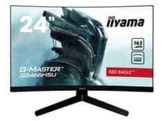 iiyama G2466HSU-B1 ukrivljen monitor, 60 cm (23,6)