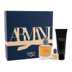 Giorgio Armani Emporio Armani Stronger With You - woda toaletowa 50 ml + żel pod prysznic 75 ml + woda toaletowa 7