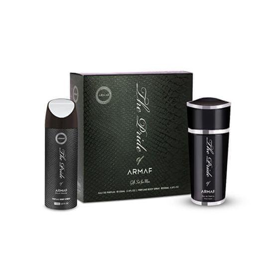 Armaf The Pride Of Armaf For Men - woda perfumowana 100 ml + Dezodorant w sprayu 200 ml