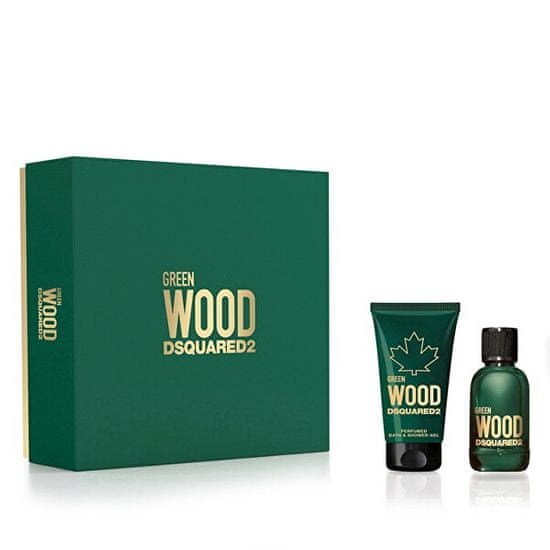 Dsquared² Green Wood - EDT 30 ml + sprchový gel 50 ml