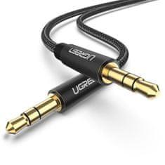 Ugreen AUX avdio kabel, 3.5 mm, 2 m, črn