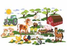 RoomDecor.eu Detské nálepky na stenu Farma