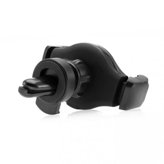 FIXED Univerzálny držiak Roll Vent s uchytením do okrúhlej mriežky ventilácie FIXH-ROL-V, čierny