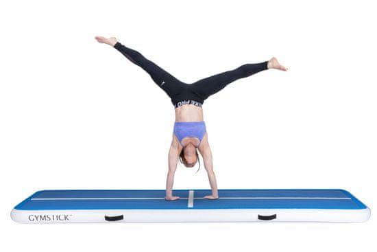 Gymstick Air Track blazina, gimnastična, modro-bela