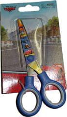 Cars Dětské modré nůžky s autama.