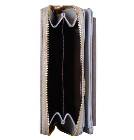 Aaryans Dámská peněženka PT19-1405 kávová