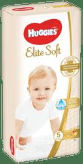 Huggies plenice za enkratno uporabo Elite Soft (12-22 kg), 56 kosov
