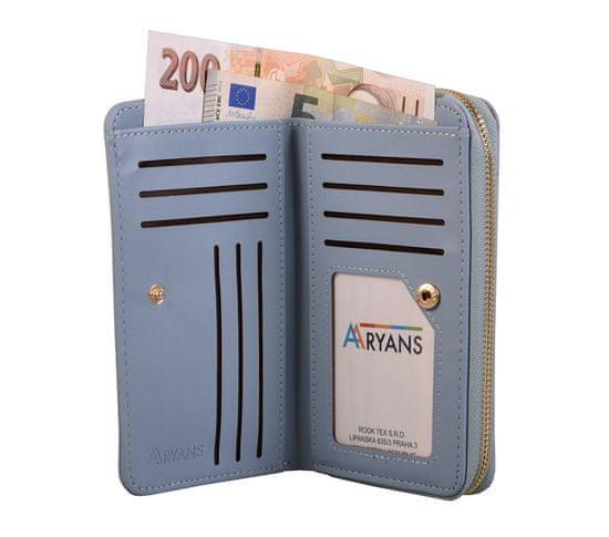 Aaryans Dámská peněženka PT19-1405 modrá