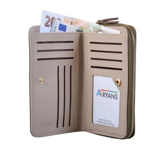 Aaryans Dámská peněženka PT19-1405 želená