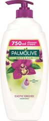 Palmolive Naturals gel za prhanje, Black Orchid, s pumpico, 750 ml